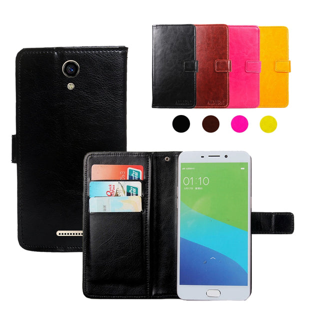 AiLiShi 100% Exclusive Case For BQ 5057 BQ-5057 Strike 2 Leather Case Flip Top Quality Cover Phone Bag Wallet Holder
