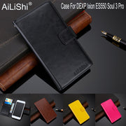 AiLiShi 100% Exclusive Case For DEXP Ixion ES550 Soul 3 Pro Luxury Leather Case Flip PU Cover Phone Bag Wallet Holder + Tracking