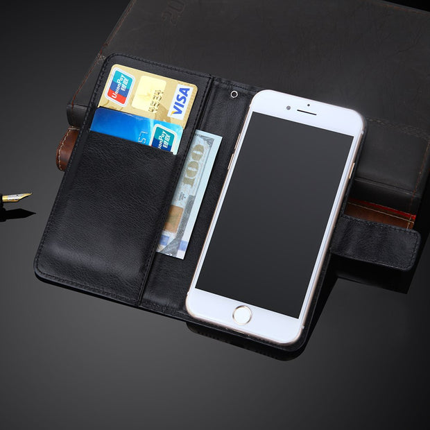 AiLiShi 100% Exclusive Case For Texet TM-5003 Luxury Leather Case Flip Top Quality Cover Phone Bag Wallet Holder + Tracking