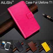 AiLiShi 100% Exclusive Case For Ulefone T1 Luxury Leather Case Flip Top Quality Cover Phone Bag Wallet Holder + Tracking Hot