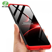Alisuber 360 Full Protection Phone Case For Xiao Mi Pocophone F1 Coque Slim Hard PC 3 In 1 Back Cover Phone Case