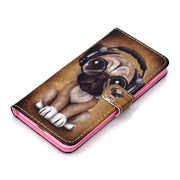 Animal Floral Pattern Leather Phone Case For IPhone XS MAX/ XR Waterproof Apple Phone Protective Cover