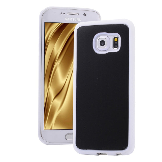 Antigravity Adsorbed Nano Suction Cover TPU Frame Case For Samsung Galaxy S8 S8Plus S5 S6 S7 Edge Note 4 5 7 Wall Magic Shell