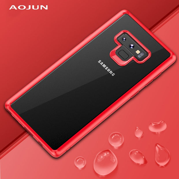 Aojun Ultra Thin Shockproof Protective Back Cover For Samsung Galaxy Note 9 Phone Shell For Samsung Galaxy Note 9 Cell Phone