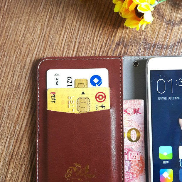 Ark Benefit S502 Plus Case 5 Colors High Quality Fashion Leather Protective Cover For Ark Benefit S502 Plus Case Phone Bag