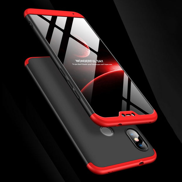 Armor Case For Xiaomi Redmi Note 5 Pro 6 Case 360 Degree Full Body Protective Back Cover For Redmi S2 Y2 6 Pro Coque Shockproof