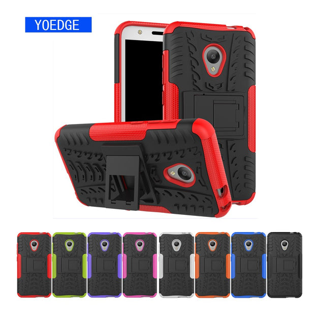 best cheap 7918b 11623 Armor Case For Alcatel U5 5047 5044D 5047Y Shock Phone Cover For Alcatel U5  5047 5044D 5047Y Hard PC Frame Cover