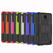 Armor Series Kickstand Heavy Duty Protection Hybrid Shockproof Dual Layer Protective Case Cover With Stand For NOKIA 2