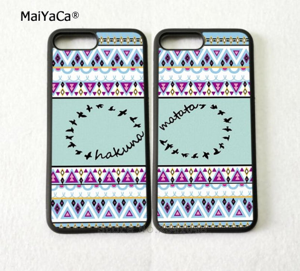 Aztec Infinity Best Friends Forever BFF Soft Silicone Soft Phone Cases For IPhone 5s Se 6 6s Plus 7 7plus 8 8plus X XR XS MAX