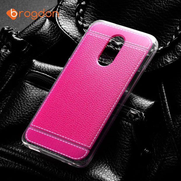 size 40 8abad c9d96 BROGDON TPU Silicone Cases For Alcatel A3 Plus Case Protective Phone Cover  For Alcatel A3+ 5011A 5.5 Inch Back Covers Shells Bag
