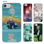 BiNFUL Bangtan BTS Number A Hard Clear Case Cover Coque For IPhone X 6 6s 7 8 Plus 5s SE 5 4s 4 5c