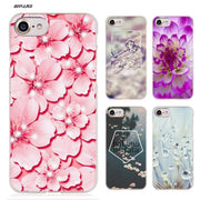 BiNFUL Flowers Dandelion Hard Clear Case Cover Coque For IPhone X 6 6s 7 8 Plus 5s SE 5 4s 4 5c