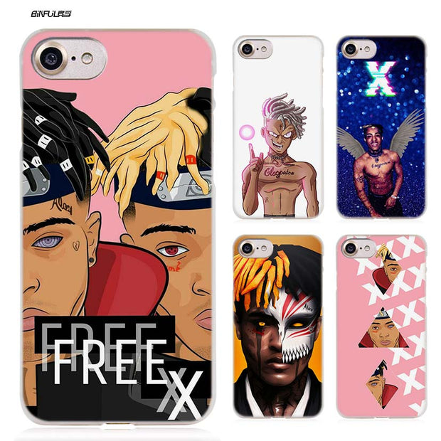 BiNFUL Xxxtentacion Hard Clear Case Cover Coque for iPhone X 6 6s 7 8 Plus 5s 620x