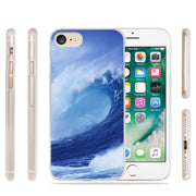 BiNFUL Fashion Seas Surf Hard Clear Case Cover Coque For IPhone X 6 6s 7 8 Plus 5s SE 5 4s 4 5c