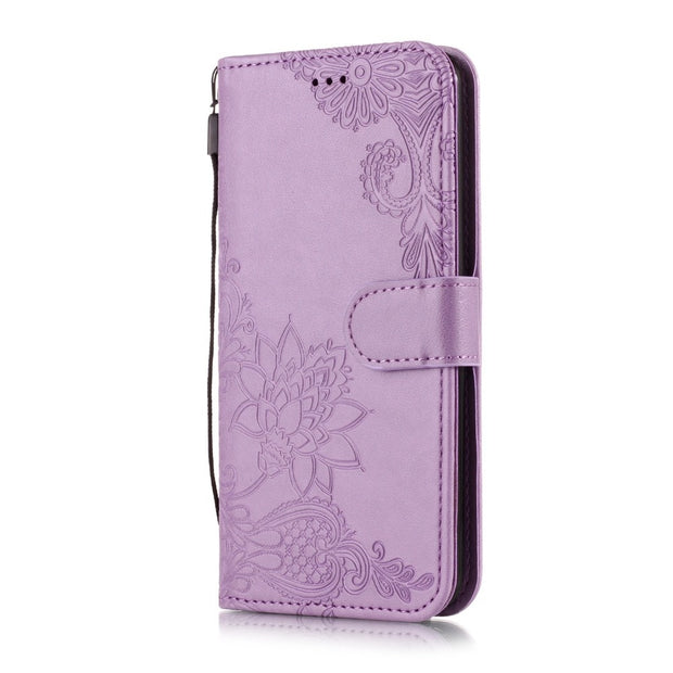 Book Case For LG Q6 Q7 Q8 Flip Case Luxury Pu Leather Wallet Phone Case Tpu Soft Silicone Cover For LG Q6 Q7 Q8 Business Case