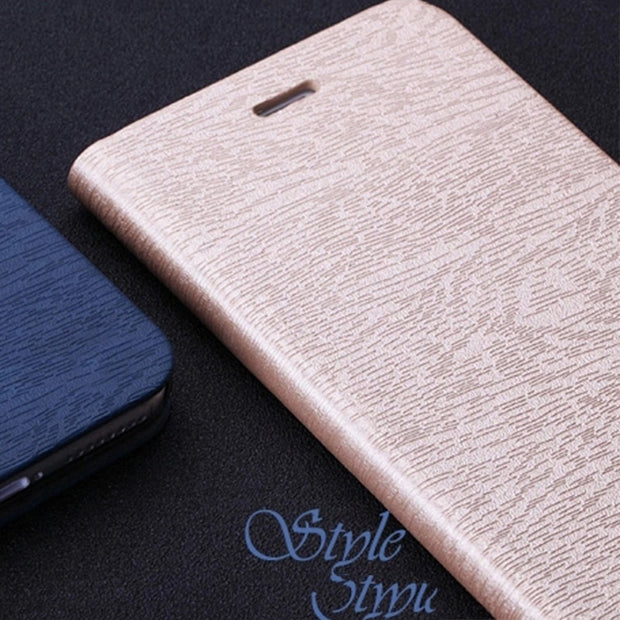 Book Case For Motorola Moto C Case Luxury Leather Phone Bag Case Silicone Back Cover For Motorola Moto C Business Case