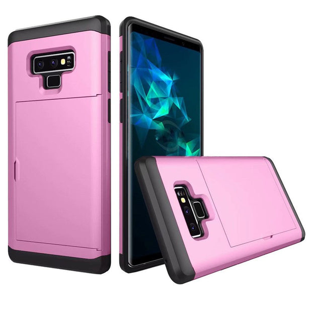 CARPRIE Mobile Phone Cases For Samsung Galaxy NOTE 9 Card Wallet Slot Hybrid Hard Slim Phone Case Cover Td0823 Dropship