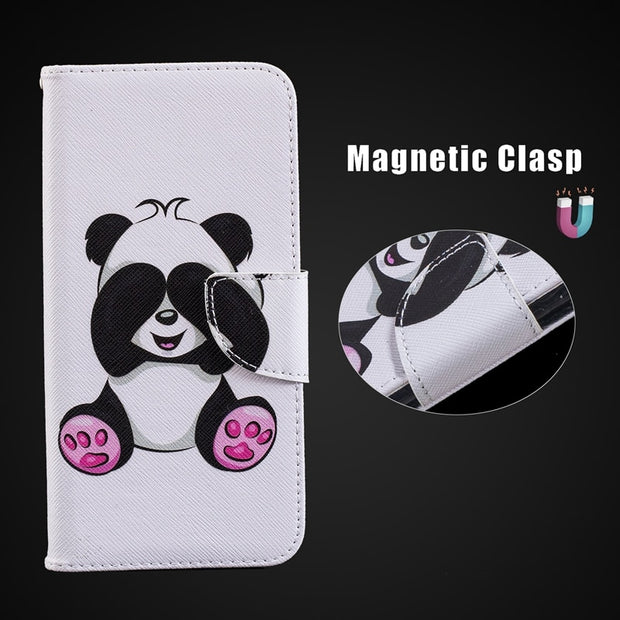 Card Holder Slot Flip Case For Huawei Nova 3i Mate 10 Lite Mate 20 Lite P20 Lite Pro P Smart Plus Wallet Case Mate 20 Lite Cover