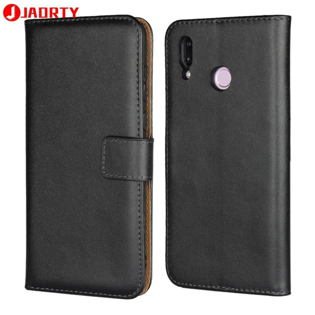 new style 72ff0 cecd5 Case For Huawei Honor Play Leather Cover Card Holder Wallet Case Coque For  Honor Play Phone Case Cover Flip Stand
