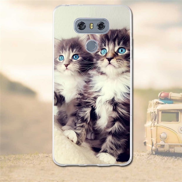 Case For LG G6 Cases Cover Soft TPU Silicon Cute Cover For LG G6 G 6 H870 5.7 Inch Case Back Cover For LG G6 Phone Cases Fundas