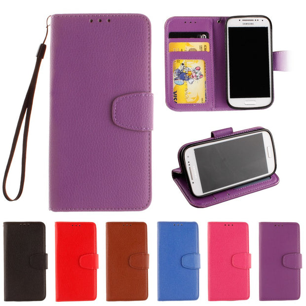 Case For Samsung Galaxy S4 Mini S 4 I9195 I9190 I9192 Galaxi S4mini 4mini GT-i9195 GT-i9190 GT-i9192 Flip Phone Leather Cover