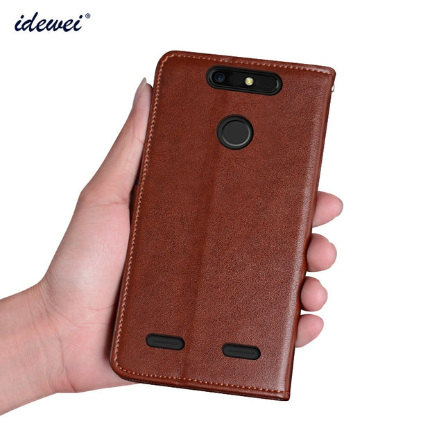 size 40 a037d c6b8a Case For ZTE Blade V8 Lite Cover Luxury Leather Flip Case For ZTE Blade V8  Lite Protective Phone Case Back Cover