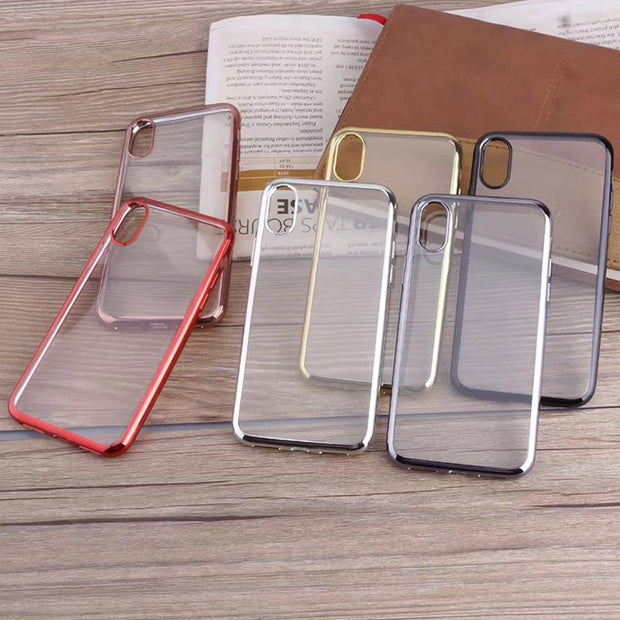 Case For Xiaomi 5X/A1 For Redmi NOTE4 NOTE4X 5 5PLUS 5A Phone Cover Soft Silicon TPU Plating Case Protective Cover
