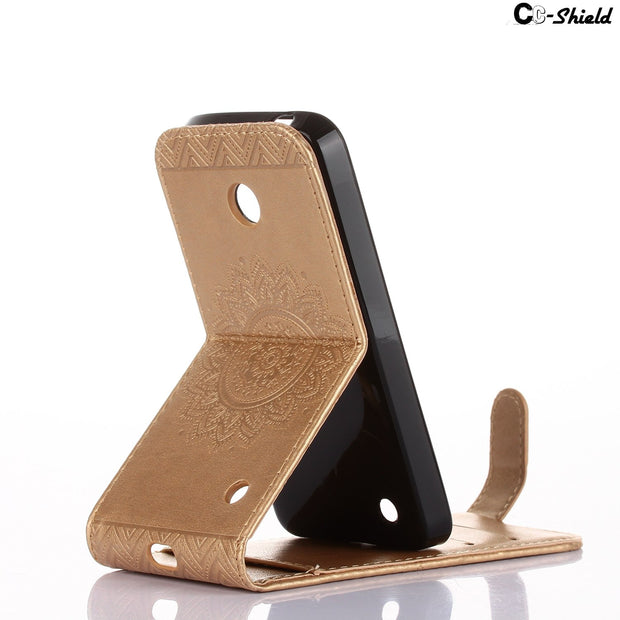 Case PU For Microsoft Nokia Lumia 630 DS Dual 635 Lumia630 RM-978 RM-976 RM Lumia635 RM-974 RM-975 Flip Case Phone Leather Cover