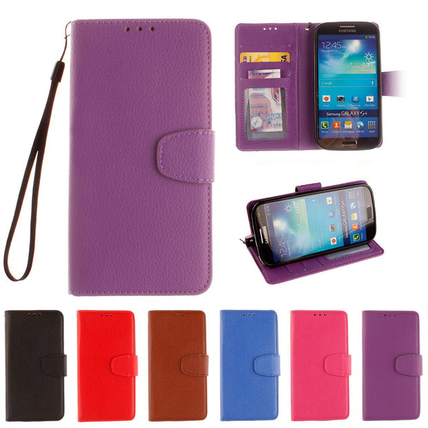 Case For Samsung Galaxy S4 S 4 I9500 I9502 I9505 I9506 Flip Leather Phone Cover For SGH-I337 GT-i9500 GT-i9505 GT-i9506 GT-i9502