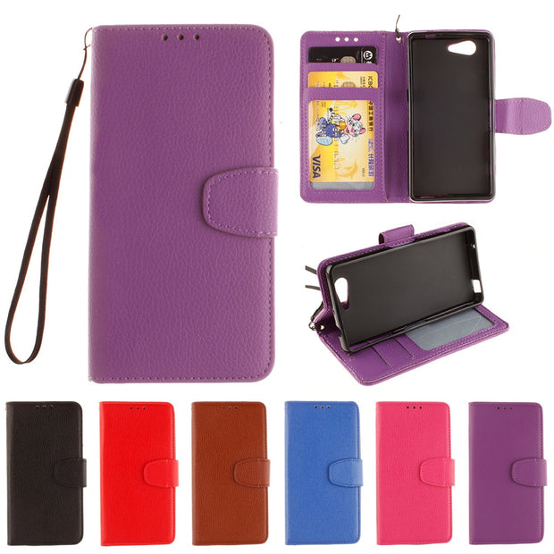 Case For Sony Xperia Z 3 Compact 3Compact Z3 Mini Flip Case Phone Leather Cover For SONY Z3C Z3Compact D5803 D5833 D 5803 5833