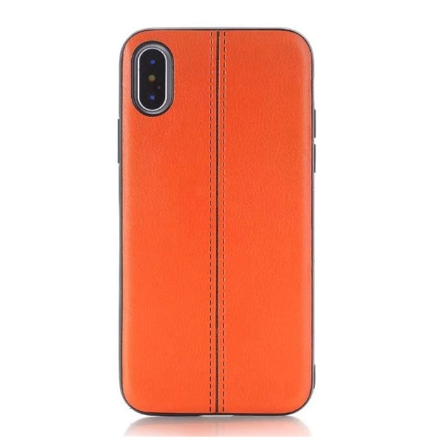 Case For Iphone X 6S 7 8 Case Cover Shockproof Retro Litchi Leather Back Cover For Iphone 6 Plus Case Capas For Iphone X Cases