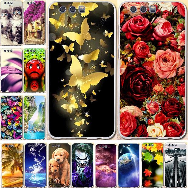 Cases For Huawei Honor 9 Case For Huawei Honor 9 Premium Cover 3D TPU Soft Silicone Fundas Bag For Huawei Honor 9 Phone Cases
