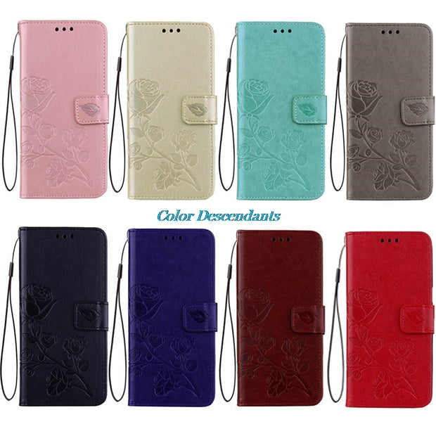cheaper 4b060 76d66 Cases For Xiaomi Redmi A4 Case Redmi 4A 4 A Luxury Leather Wallet Flip  Cover Case For Xiaomi Redmi 4A Fitted Cases Mobile Parts