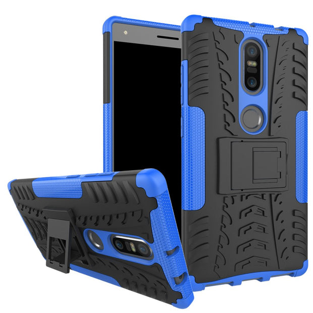 Cover For Lenovo Phab2 Plus Case Armor Robot Silicone Plastic Hard Cover Back Phone Cases For Lenovo Phab 2 Plus Fundas Capa Hot