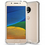 Crystal Clear Anti-slip Anti-Scratch Shockproof Durable Flexible TPU Soft Case Cover For Motorola Moto G5 Plus