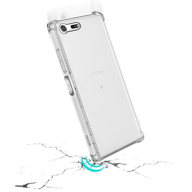 Crystal Clear Anti-slip Anti-Scratch Shockproof Durable Flexible TPU Soft Case Cover For Sony Xperia XZ Premium