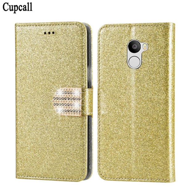 Cupcall Cover Luxury Phone Protective Mobile Funda Case For Xiaomi Redmi 4 (5.0'') Flip Cover Coque Wallet Leather Bag Skin