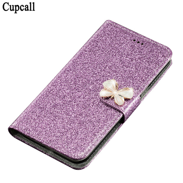 Cupcall Mobile Phone Case For Asus ZenFone 2 Laser ZE500KL 5 Inch Luxury Flip Leather Cover Cell Phone Cases Accessories