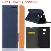 "DIYABEI Flip Phone Case For Huawei Honor 5X Wallet Leather Case For Huawei Honor 5X 5.5"" Case Cover"