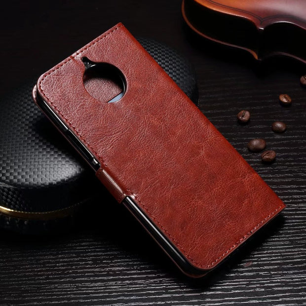 "DIYABEI For Motorola Moto G5S 5.2"" PU Leather Back Cover Case For Motorola Moto G5S Case Flip Protective Phone Case"