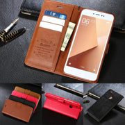 "DIYABEI For Xiaomi Redmi Note 5A Case Luxury Flip PU Leather Stand Case For Xiaomi Redmi Note 5A 5.5"" Mobile Phone Cover"