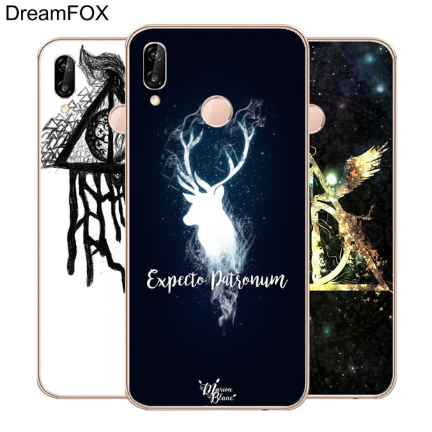 DREAMFOX M505 Harry Potter Deathly Hallows Soft TPU Silicone Case ...