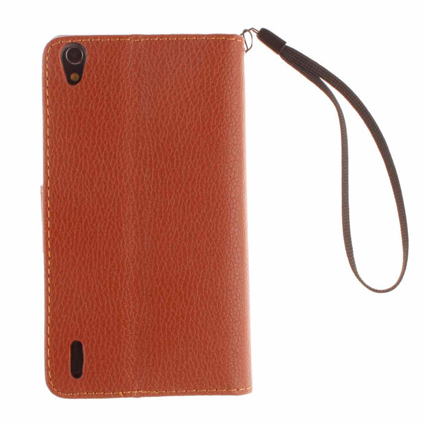 Double Magnet Flip Case For Huawei Ascend P7 P 7 L00 L05 L07 L09 Case Phone Leather Cover For Huawei P7-L09 P7-L07 P7-L05 P7-L00