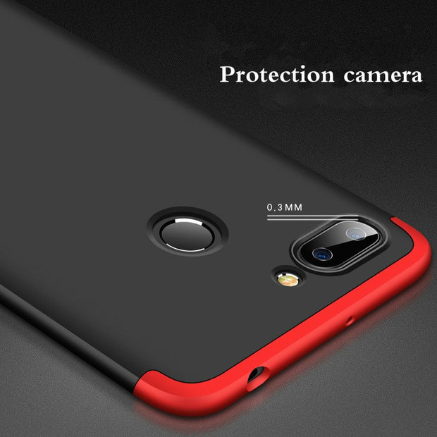 Drop Full Cover Toughened Case Phone Case For Xiaomi A1 5X 6X MIX 2S 3 IN 1 Full Protection Case For Redmi Note 5 Pro 5A 4A 5 P