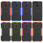 Dual Layer Rugged Kickstand Hybrid Heavy Duty Shockproof Case For Huawei Honor V9/Honor 8 Pro