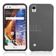 Dual Layer Slim Hard Hybrid Armor Case Rubber Shockproof Protective Mobile Phone Cover Case For LG X Power K210 K220 K220ds @