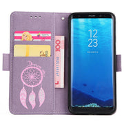 FKISSME Luxury Glitter Dream Catcher Wallet PU Leather Case For Samsung Galaxy S8 Plus Case Cover Stand Flip Case For Samsung S8