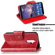 FQYANG Vintage Flip Phone Case For Nokia 7 PLUS 5 Magnetic Wallet Flip PU Leather Stand Case For Nokia 6 2018 7PLUS Cover Card