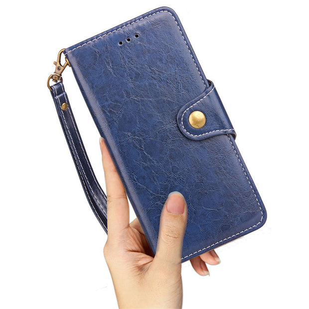 FQYANG Vintage Flip Phone Case For Xiaomi 5X Magnetic Wallet Flip PU Leather Stand Case For Redmi Note5 Pro 5 Plus 5A Cover Card
