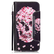 Fashion Unicorn Flip Cover PU Leather Case For Iphone 5C Phone Bags With Card Slot Stand Wallet Style Cover